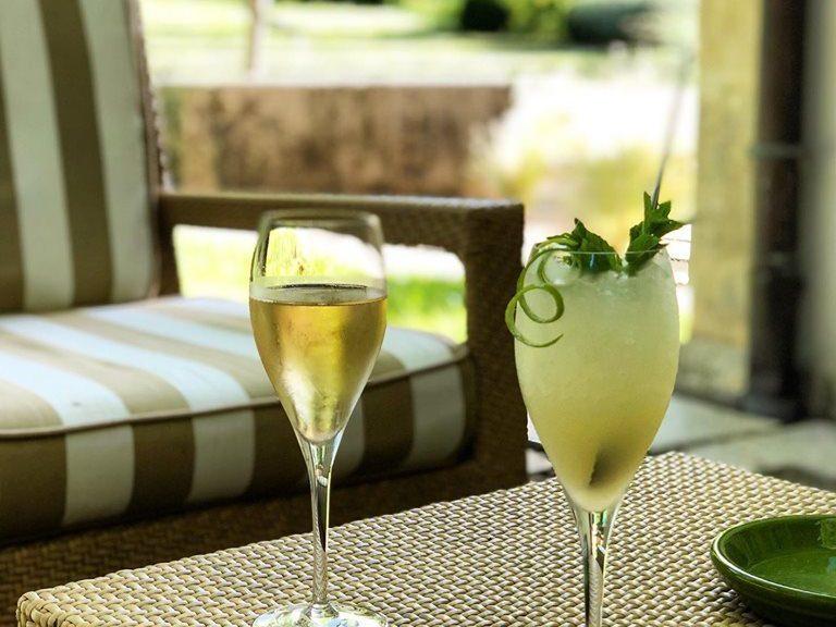 Les Prés d'Eugénie - cocktail