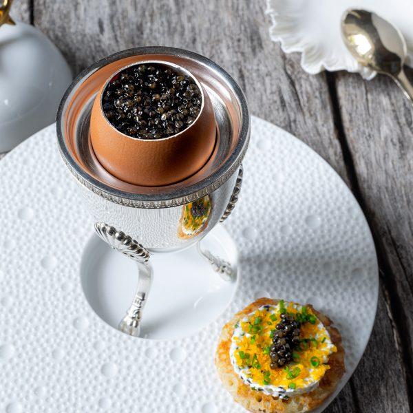 Les Prés d'Eugénie - Michel Guérard - Oeuf Caviar